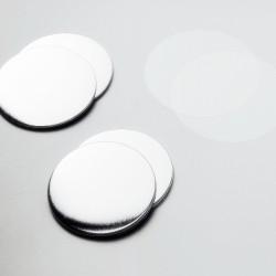 75mm Flatback button onderdelen