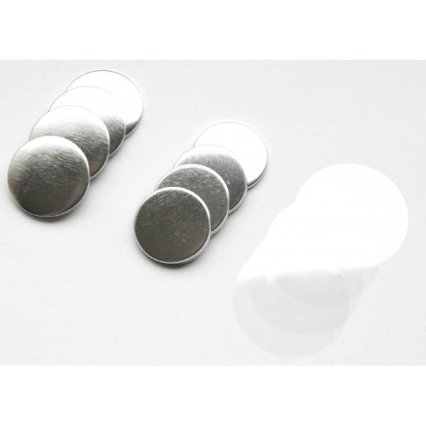 25mm Flatback button onderdelen